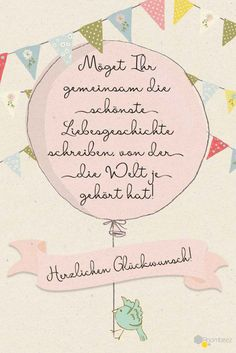 # Congratulations # Greeting Card # Sayings This and more sweet luck . - Hochzeit ♥ DIYs, Deko, Impressionen & mehr - The Best Wedding You Deserve Wedding Quotes, Wedding Wishes, Wedding Cards, Diy Wedding, Wedding Gifts, Wedding Beauty, Wedding Ideas, Congratulations Greetings, Wedding Congratulations Card