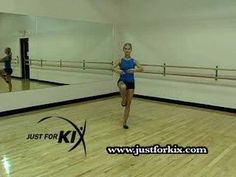 Learn the perfect Jazz pirouette!