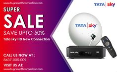 Our Brand Buy New DTH connection offers from all operators such as Tata Sky , Airtel DTH, Dish Sports Live Cricket, Sky Online, Sky New, Sporting Live, North India, Call Backs, Connection, Entertainment, Digital
