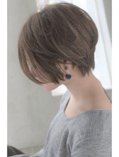 Pin on ショートヘア Hair Day, New Hair, Medium Hair Styles, Short Hair Styles, Hair Arrange, Hair 2018, Pixies, Great Hair, Pretty Hairstyles
