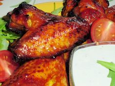 Tandoori Chicken, Chicken Wings, Grilling, Turkey, Dishes, Meat, Ethnic Recipes, Food, Plate