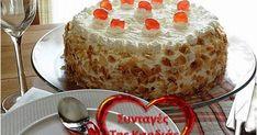 Κάθε χρόνο τέτοια μέρα είθισται να κερνάει η Έλενα για όλους τους εορτάζοντες του blog μας, που δεν είναι και λίγοι!!!!  Φέτος μου ζήτησε ... Vanilla Cake, Tiramisu, Caramel, Food And Drink, Pudding, Sweets, Cookies, Ethnic Recipes, Desserts