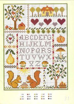 Ωραία σχέδια για κεντητές σαλιάρες , σεντόνια, κουβερτούλες για μωρά και κάδρα για παιδικά δωμάτιαπηγή / source     ένα πολύ όμορφο σχέδιο για παιδικό κεντημένο δειγματολόγιοa lovely pattern for a ch