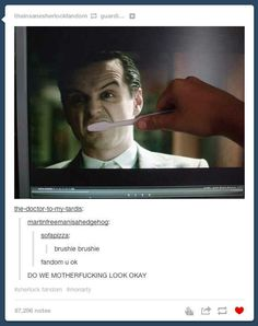 Moriarty is back. We have to wait 2 years. DO I LOOK FUKIN ALRIGHT!!!