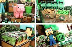 Minecraft Themed Tween Birthday Party with So Many Awesome Ideas via Kara's Party Ideas KarasPartyIdeas.com #minecraftparty #tweenparty #partyideas (6)