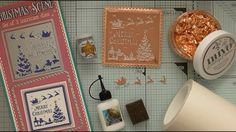 Rose Platinum, Copper and Silver Christmas Scene :D