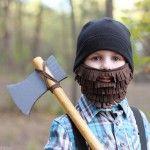 Halloween Costume Ideas: Lumberjack with Beard and Axe tutorial