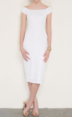 Ralph Lauren White Dress   VAUNTE