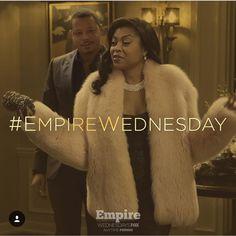 tarhondajay    We all know what today is!!!!! #EmpireWednesday  Tonight on Fox!!!  Ta'Rhonda Jones