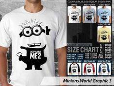 Kaos Minions Chelsea Terbaru, Kaos Minions Ukuran Anak-anak