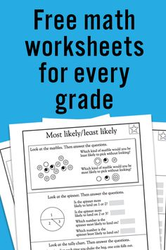 Use them to create a summer learning packet! #StopSummerSlide