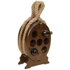 Aspire Nautical Wood Wine Rack