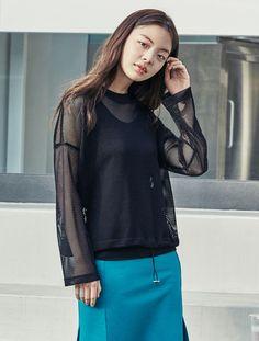 2017 SS Mesh Women's T-shirt Black Summer Stylish  #8seconds #MeshTShirts