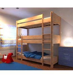 die besten 25 dreier etagenbett ideen auf pinterest dreibettzimmer 3 etagen etagenbetten und. Black Bedroom Furniture Sets. Home Design Ideas