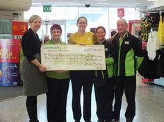 Customers at the Burton branch of Asda have been voting in store via the green token system to raise money for Queen's Hospital. #NHS #Charity #Thanks