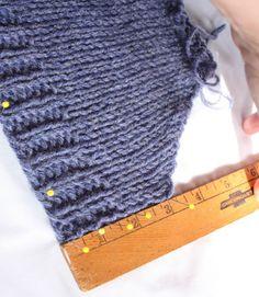 Blocking, part 3 : Knitty Winter bis 2011