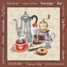Café Brown by Rosiland Solomon