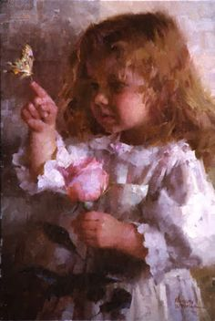 Fine Art and You: Morgan Weistling | U.S. Painter | Children Paintings