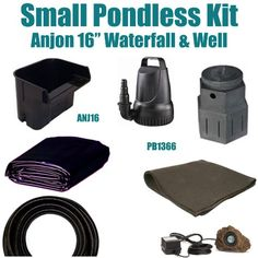 "10 x 15 Small Pondless Waterfall Kit 3200 GPH Mag Drive Pump Anjon 16"" Waterfall & Pondbuilder Mini Pump Canyon PSH4 Patriot,http://www.amazon.com/dp/B007XWCPUG/ref=cm_sw_r_pi_dp_guGrtb01KR84NGQ0"