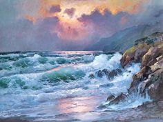 Evening Glory by Alexander Dzigurski