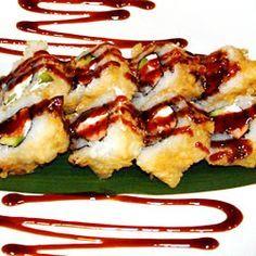 Vegas Roll- Philadelphia Roll deep fried tempura style. Once again, a Tyler thing.