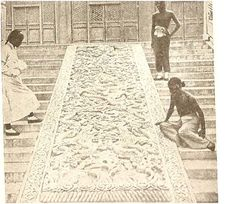 """In 100 Amazing Facts About The Negro, J.A. Rogers reports that in 1923, Europeans first discovered """"a hitherto unknown Negro race, the Nakhis, 200,000 in number, in Southern China.""""  Here are some black Chinese Na-khis, in the Chinese Temple of Heaven, in the year 1920. I wonder what happened to them all?"""