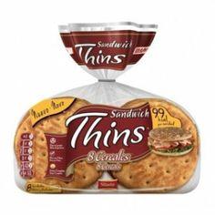 Sandwich Thins 8 Cereales de Bimbo (Supersol y Eroski) - 1 unidad 2 puntos.