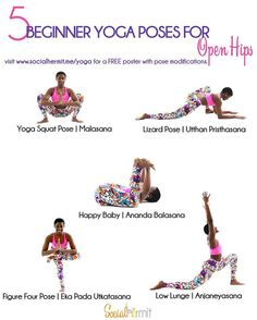 """""""#Yogaforbeginners – Get those hips right to relieve lower back pain, improve your posture and make those split poses more accessible. Click the link in my…"""""""