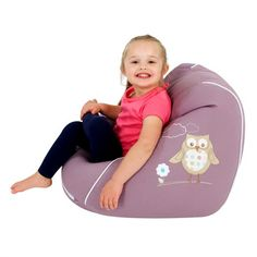 0d39cbff0e Washable Embroidered Kids Cotton Beanbag Baby Pancakes