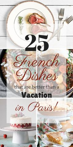 25 French Dishes that are Better than a Vacation in Paris Best Picture For World Cuisine logo For Your Taste You are looking for something, and it is going to tell you exactly what you are looking for French Dinner Parties, Dinner Party Menu, Dinner Themes, French Dinner Menu, Fancy Dinner Recipes, French Cooking Recipes, Classic French Dishes, French Meal, Paris Food