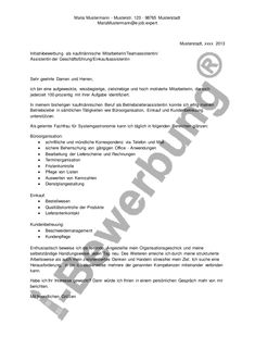 anschreiben zur i bewerbung als betriebsleiter assistentin - Bewerbung Anschreiben Einleitung