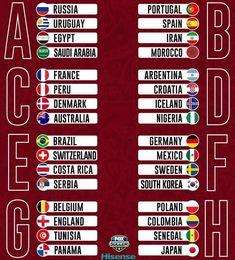 FIFA World Cup 2018 - Vote For Your Favourite Team - Undi.cc