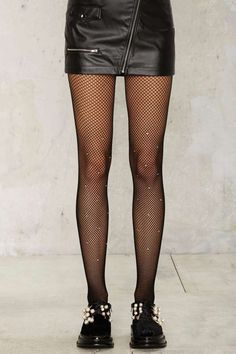 Diamond in the Rough Fishnet Tights - Accessories   Socks + Legwear   Best Sellers   Party Accessories   All Party