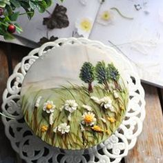- Special Day Drawing Cake- Hong student from Thailand It was a very . Buttercream Flowers, Buttercream Cake, Rapunzel Birthday Cake, Cake Decorating Piping, Painted Cakes, Cake Images, Food Illustrations, Pie Dish, Thanksgiving Recipes