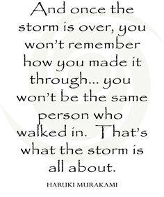 Hurricane print, hurricane harvey, hurricane irma, the storm, MURAKAMI quote,