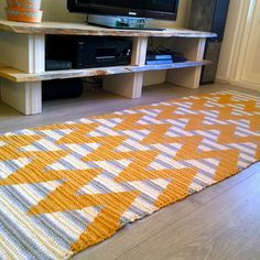 Askarrellaan paskarrellaan sielu: DIY rug from Molla Mills pattern