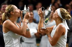 """""""Joke that more abruptly us from Makarova only sisters Williams"""": Vesnina about a victory in couple on Wimbledon Ekaterina Makarova, Wimbledon 2017, Roger Federer, Tennis Players, Us Open, Australia, Victorious, Tan Solo, Sisters"""