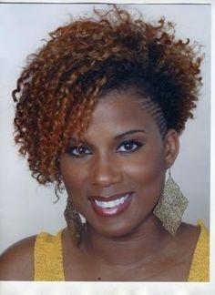 I like this!   Black Women Natural Hairstyles by DeeDeeBean