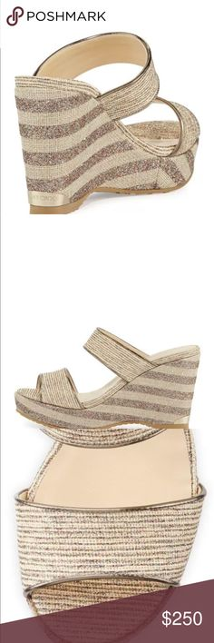 e9bd58c03 Shop Women s Jimmy Choo size Wedges at a discounted price at Poshmark.