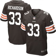 Trent Richardson Jersey Mens Nike Cleveland Browns http://#33 Elite Team Color Brown Jersey | Size S, M,L, 2X, 3X, 4X, 5X. At Official Cleveland Browns Shop, you can find one of the largest selections online of Trent Richardson Jersey Mens Nike Cleveland Browns http://#33 Elite Team Color Brown Jersey | Size S, M,L, 2X, 3X, 4X, 5X licensed by the NFL. $129.99