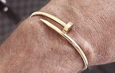 """Men's Bracelets -- """"Juste un Clou"""" -- Cartier"""