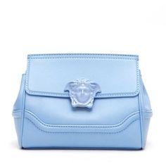 VERSACE Soft leather shoulder bag