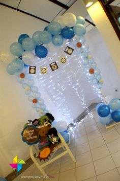 Photo Booth / Photography Corner for a Teddy Bear Themed Birthday Party