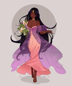 (Not my art) [C] Remma by Ayshius on DeviantArt Black Girl Art, Black Women Art, Art Girl, Black Art, Black Anime Characters, Fantasy Characters, Female Characters, Fantasy Character Design, Character Design Inspiration