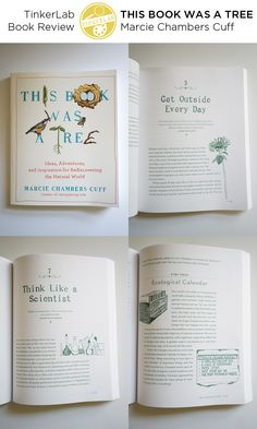 This Book is a Tree: The new book from Marcie Cuff is packed with ideas on how to reconnect our digital, nature-deprived selves with the earth through hands-on making, journalling, adventuring, and playing outdoors.