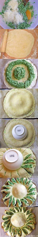 Sunny Spinach Pie Recipe