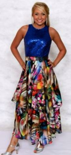 Love this! Feels so modern for a group. Sequins and fun colors. It's been growing on me.