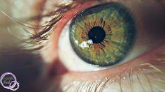 My husband eye.
