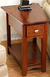 Wedge End Tables For Recliners