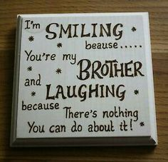 Funny christmas gifts for brother birthday 37 ideas for 2019 Christmas Gifts For Brother, Birthday Cards For Brother, Diy Christmas Presents, Funny Christmas Gifts, Funny Birthday Cards, Birthday Diy, Christmas Humor, Brother Gifts, Brother Brother